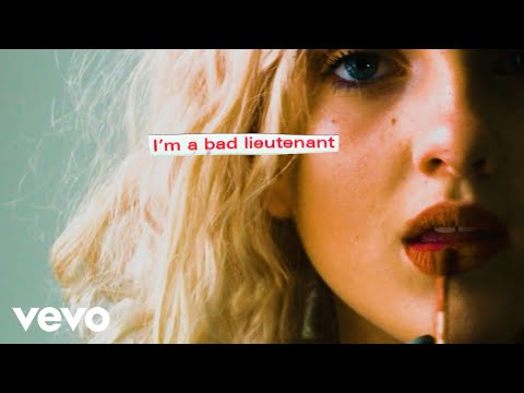 Kate Nash - Bad Lieutenant - Lyric Video
