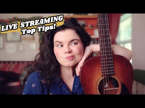 MY TOP 10 LIVE STREAMING TIPS: Ten juicy tips for live streaming music in 2020!