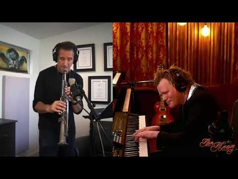 """Brian Culbertson & Eric Marienthal """"Heroes of the Dawn"""" LIVE on The Hang"""