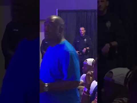 The police that beat Trapboy Freddy up spotted at his show last weekend in Dallas
