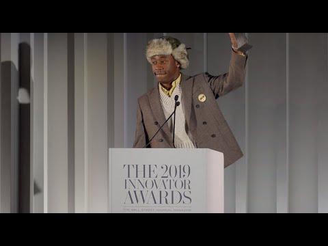 Tyler, The Creator - WSJ 2019 Music Innovator Award Presentation