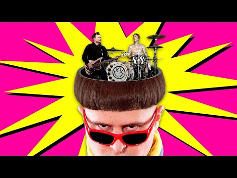 Oliver Tree - Let Me Down (feat. blink-182) [Lyric Video]