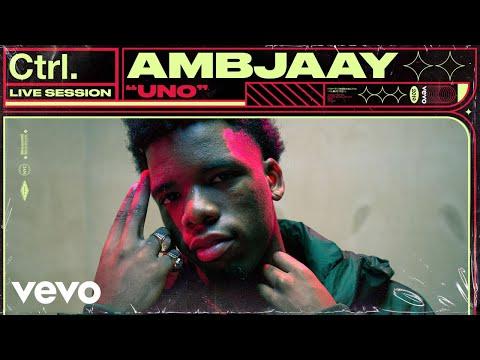 "Ambjaay - ""Uno"" Live Session   Vevo Ctrl"