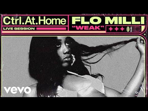 Flo Milli - Weak (Live Session)   Vevo Ctrl.At.Home