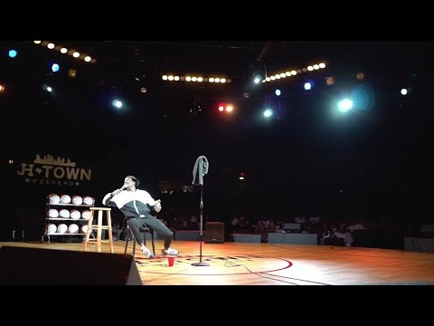 JAMES HARDEN'S STAND UP COMEDY SHOW IN HOUSTON