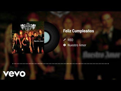 RBD - Feliz Cumpleaños (Audio)