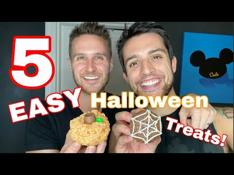 5 Easy Halloween Treats! Husbands show DIY Last Minute Halloween Snacks + Recipes