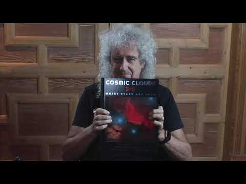 Happy Publication Day To Cosmic Clouds 3-D! Join Brian May Tonight at 8PM BST for the Launch!