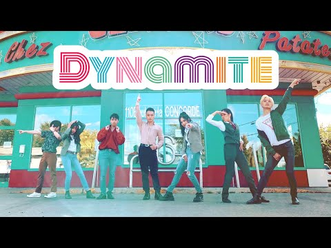 BTS (방탄소년단) - DYNAMITE Dance Cover [EAST2WEST]