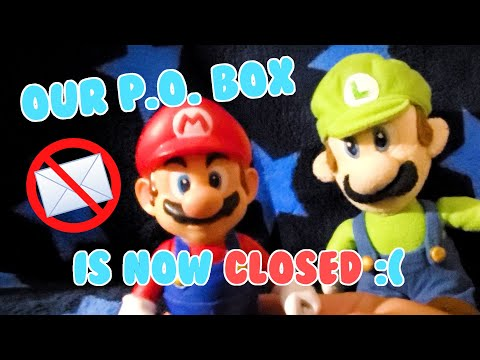 Mail Time Goodbye - Cute Mario Bros.