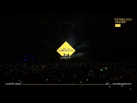 Cosmic Gate - Come With Me (live at ASOT 900 Mexico)