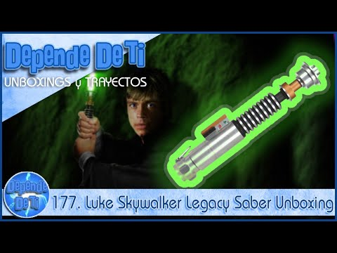 177. Luke Skywalker Legacy Saber Unboxing