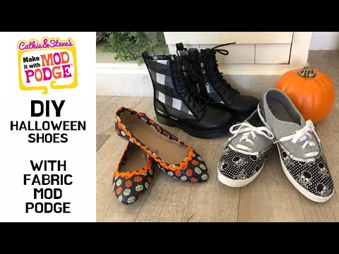 DIY Halloween Shoes