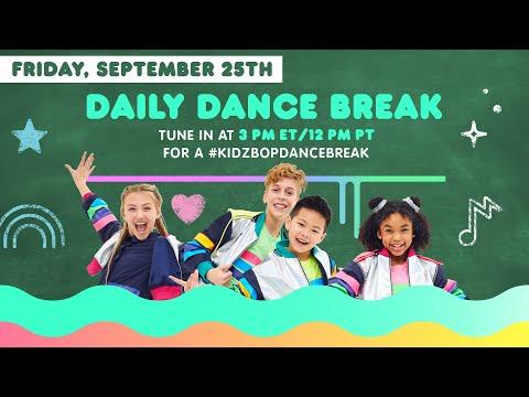🔴 KIDZ BOP Daily Dance Break [Friday, September 25th]