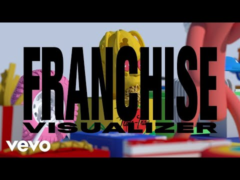 Travis Scott feat. Young Thug & M.I.A. - FRANCHISE (Official Visualizer)