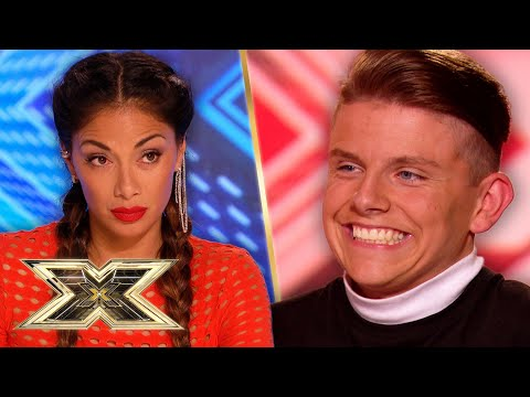WHERE DOES THAT VOICE COME FROM?!    The X Factor UK