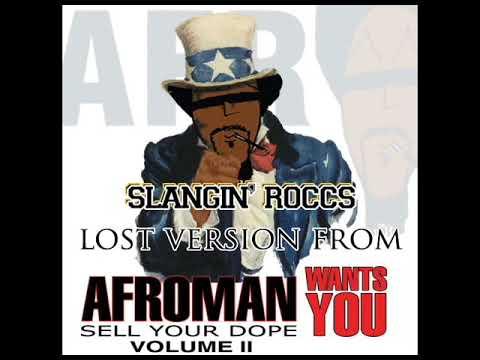"""Afroman, """"Slangin' Roccs"""" OG Version"""