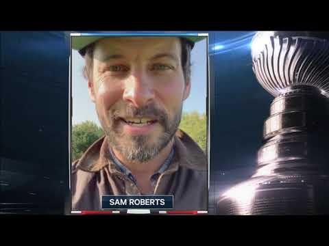 Sam Roberts on Hockey Night in Canada Game 4!