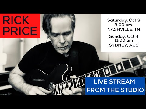 Rick Price Live from the Studio