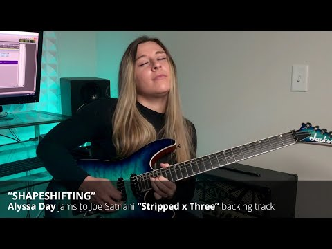 "Alyssa Day jams to Joe Satriani's ""Shapeshifting"""