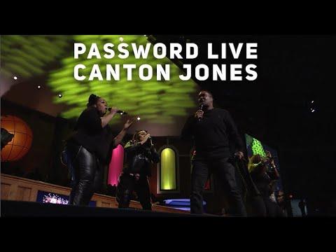 "Canton Jones ""Password"" Live 2019"
