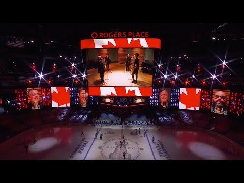 Barenaked Ladies - Stanley Cup Final 2020 Game 6 Canadian National Anthem Performance