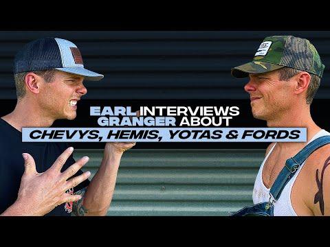 "Earl Dibbles Jr interviews Granger Smith - ""Chevys, Hemis, Yotas & Fords"""