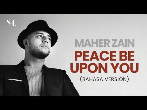 Maher Zain - Peace Be Upon You (Bahasa Version) | Official Lyric Video