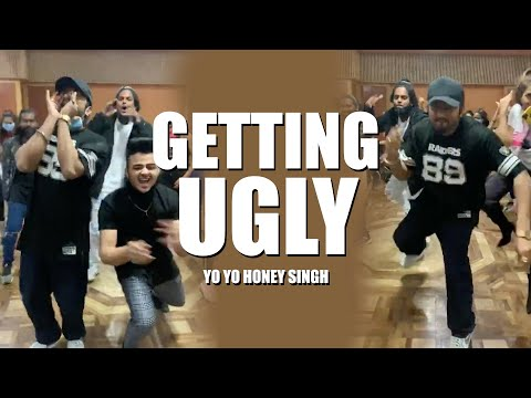 Getin' Ugly | Dance Rehearsals | Yo Yo Honey Singh | Live Session