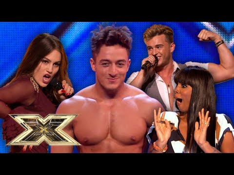 NAUGHTIEST contestants and their SEDUCTIVE auditions! | The X Factor UK