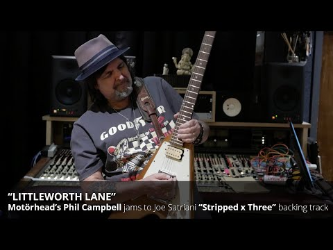 "Motörhead's Phil Campbell jams to Joe Satriani's ""Shapeshifting"""