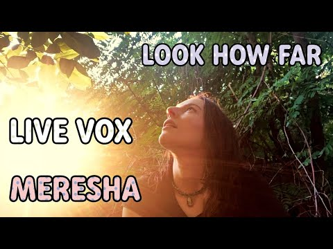 MERESHA // LOOK HOW FAR - LIVE VOX