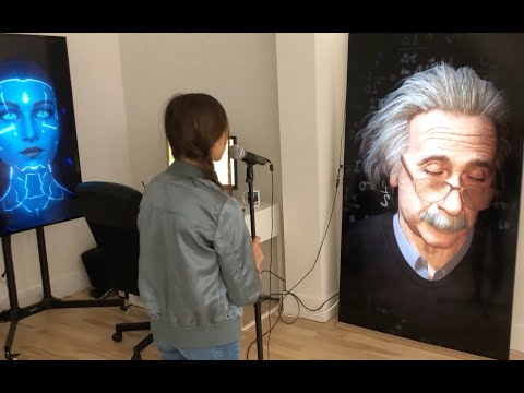 Einstein AI - Reimagine AI's series Talking to History