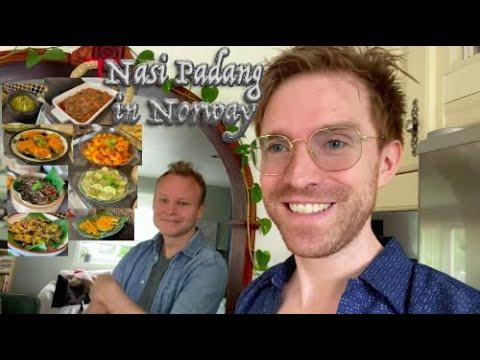 A closer look at Nasi Padang - Getting Nasi Padang in Trondheim, Norway.