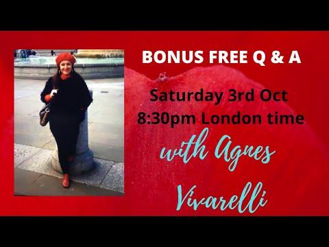 Bonus FREE Q and A - THIS Sat 3rd Oct 2020!! ☎️