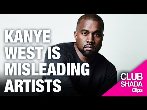 Kanye West is misleading artists with the masters conversation | Club Shada Clips