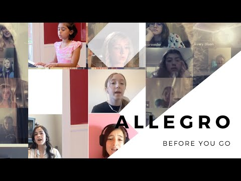 Before You Go (Lewis Capaldi) ft. Allegro Music Class by Evie