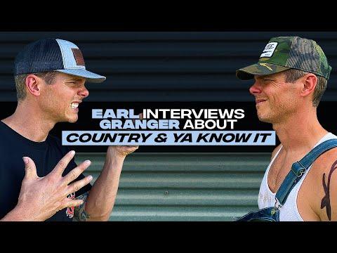 """Earl Dibbles Jr interviews Granger Smith - """"Country & Ya Know It (feat. Earl Dibbles Jr)"""""""