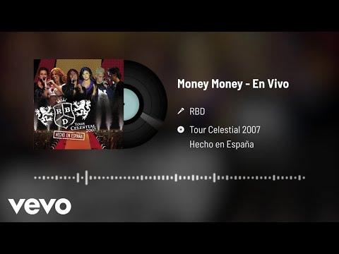 RBD - Money Money (Audio / En Vivo)