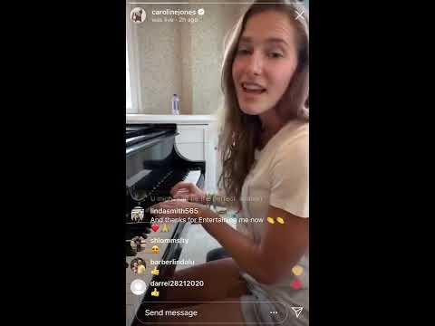 Caroline Jones - Instagram Live Highlights