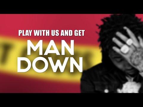 YFN Lucci - Man Down (Official Lyric Video)