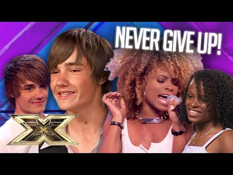 X Factor LEGENDS who auditioned TWICE! | The X Factor UK