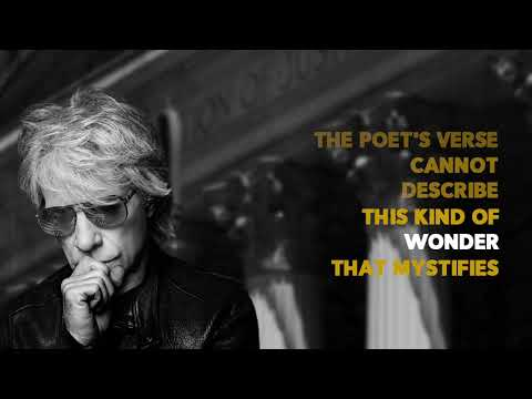 Bon Jovi - Beautiful Drug  (Lyric Video)