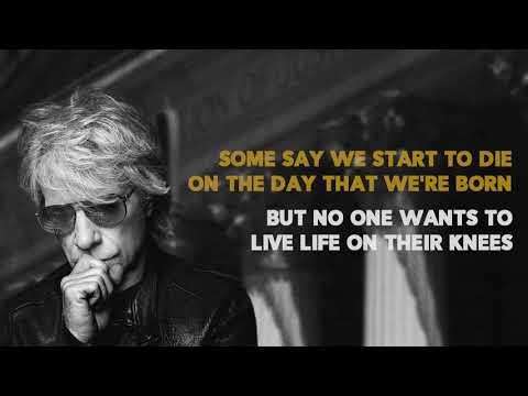 Bon Jovi- Lower The Flag (Lyric Video)