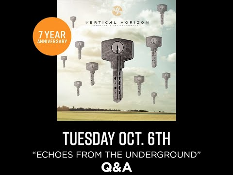 """Upcoming Q&A and live performance for the 7th anniversary of """"Echoes From the Underground!"""""""