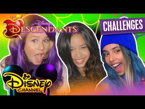 Ruth and Ruby's Virtual Halloween Sleepover Challenge 🎃 | Descendants Costume 🎭  | Disney Channel