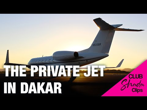 The Private Jet from Dakar to Bissau | Club Shada Highlights