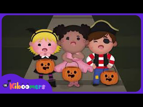 Spider Eggs in a Dish | Halloween Songs | The Kiboomers