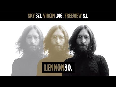 LENNON80. A Pop-up TV channel in the UK & Ireland - to celebrate John Lennon's 80th birthday.