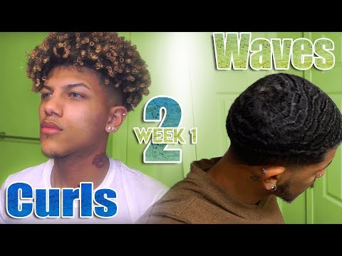 My Curls To Waves Journey Haircut Update
